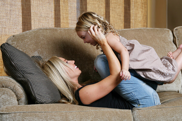 Upholstery cleaning from Chem-Dry is clean and safe for the whole family.