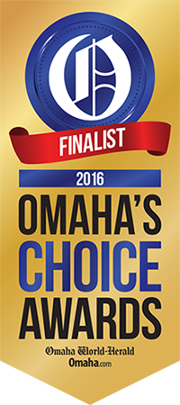 Finalist for Omaha's Choice Awards