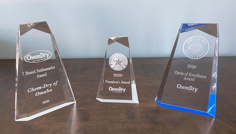Chem-Dry of Omaha's awards